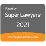 Super Lawyers 2021 Badge